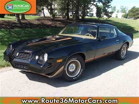 1979 Chevrolet Camaro by 1979 Chevrolet Camaro For Sale On Classiccars