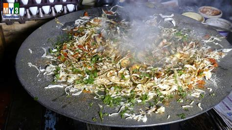 v駻anda cuisine egg bhaji anda bhaji food mumbai food 4k food