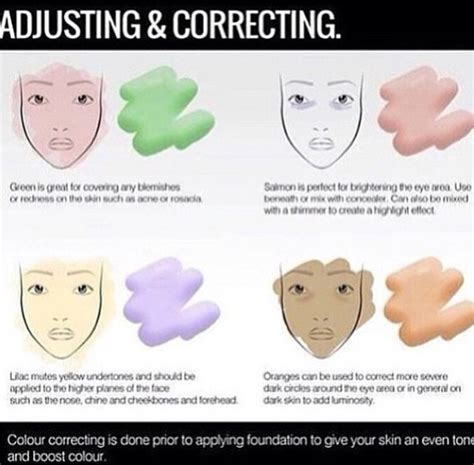 how to color correct makeup color correcting marcello makeup
