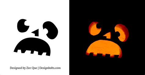 cool and easy pumpkin carvings patterns cute funny cool easy halloween pumpkin carving patterns stencils ideas 2015