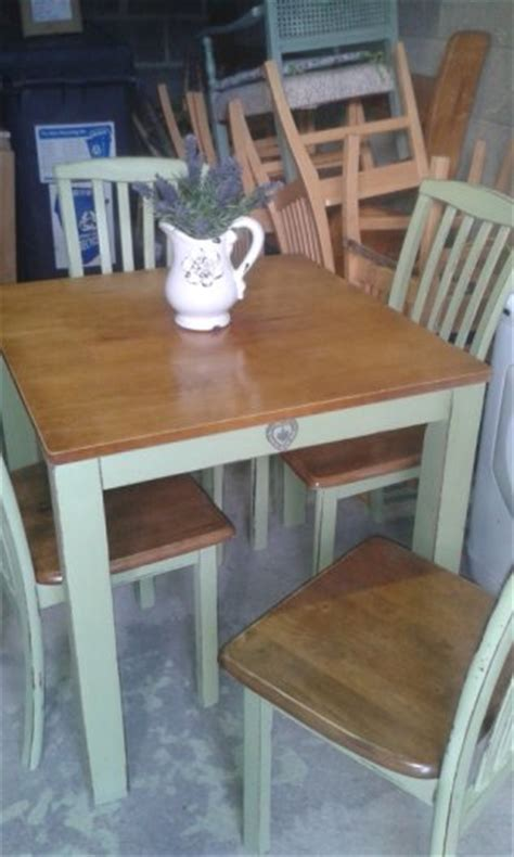 cottage style kitchen furniture painted waxed for sale for