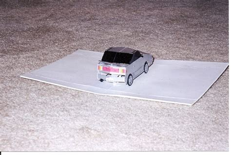 Pop Up Car by Really Cool Paper Car Creative Pop Up Cards
