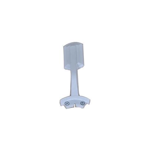 hawkins 44 in white ceiling fan replacement blade arms
