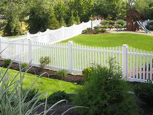 Austin picket fence vinyl picket fence factory direct for White dog fence