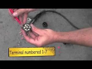 How To Wire A Trailer Round    Flat Plug   Australia