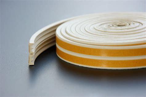 White Epdm Weatherbar Draft Self Adhesive Rubber Door