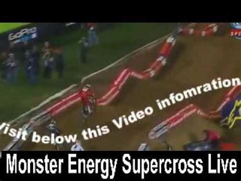 watch ama motocross live anaheim supercross 2015 live stream round 3 online youtube