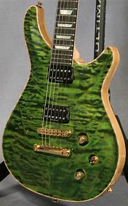 Quicksilver Quilted Maple Top Guitar