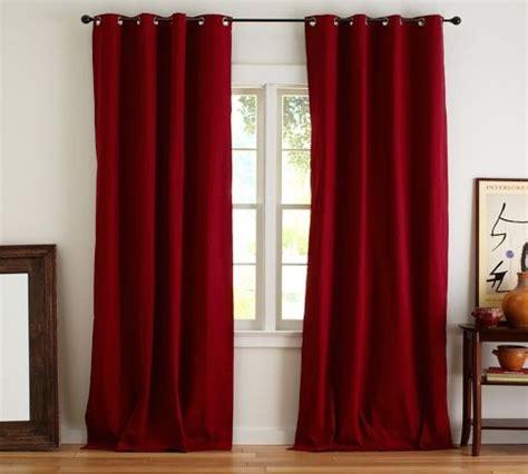pottery barn curtains grommet cameron cotton grommet drape