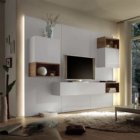 HD wallpapers wohnzimmer anbauwand modern