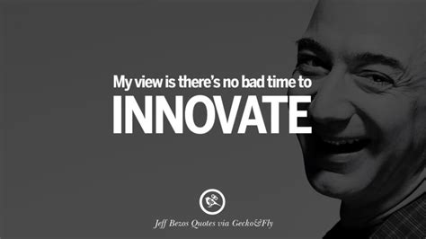 famous jeff bezos quotes  innovation business