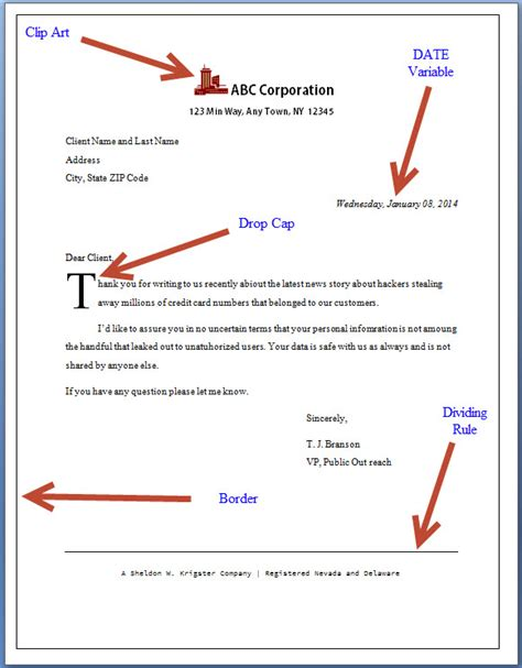 create  ms word form letter   seconds