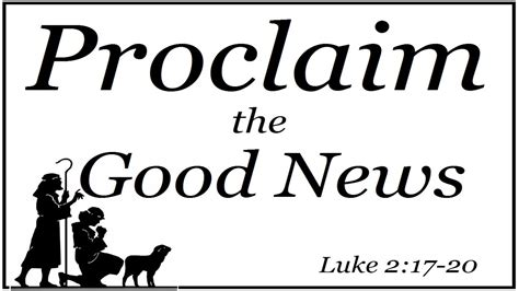Wood Food Pantry by Proclaim The Good News Luke 2 17 20 Warwood Christian