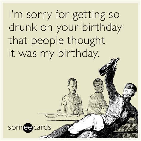 Birthday Ecard Meme - image gallery someecards drinking