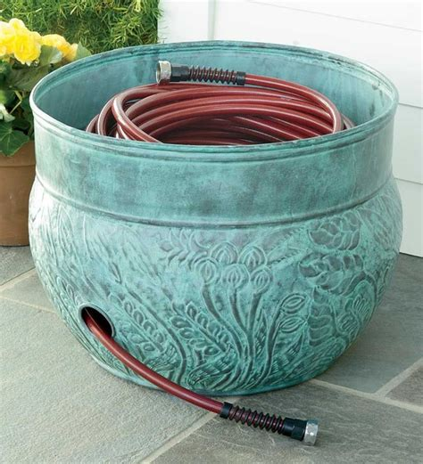 Hose Pot  Traditional  Outdoor Decor  By Plow & Hearth