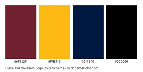 cleveland cavaliers colors cleveland cavaliers logo color scheme 187 blue 187 schemecolor