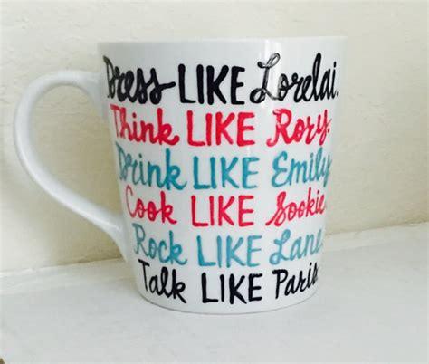 Home Geekonomics: GILMORE GIRLS Coffee Mugs   Nerdist