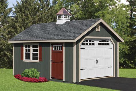 pre built custom garages cedar craft storage solutions