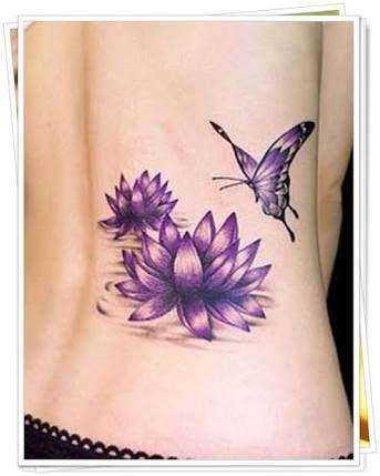 purple flower tattoos ideas   pinterest