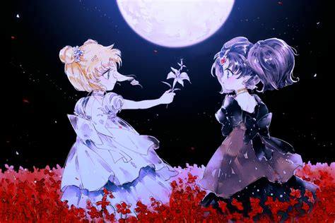 Anime Moon Wallpaper - bishoujo senshi sailor moon pretty guardian sailor moon