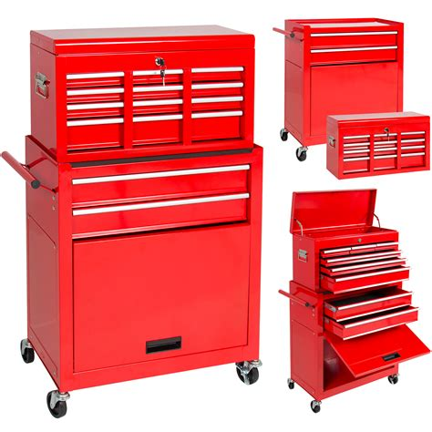 Portable Top Chest Rolling Tool Storage Box Cabinet