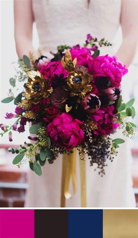 fuschia pink wedding palettes   wedding day weddbook