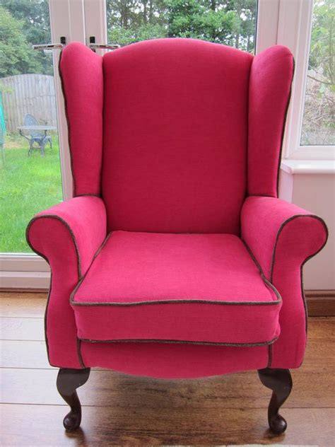 Pink Accent Chair by Pink Accent Wingback Chair Vintage By Seatingpretty On