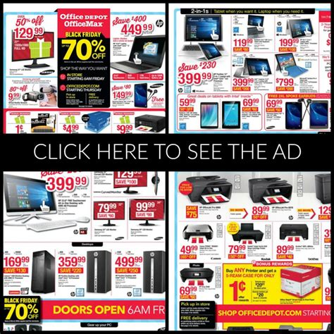 Office Depot Hours Black Friday by Office Depot Black Friday Ad 2018 Deals Store Hours