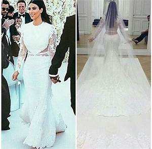kim kardashian wedding dress givenchy perfect combination With kim wedding dress