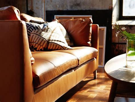 Ikea Stockholm Sofa Leder by Wohnzimmer Eingerichtet Mit Produkten Aus Der Stockholm