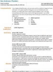 plumbing resume cover letter plumbers cover letter for plumber