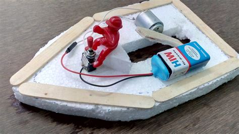 How To Build A Boat Toy by Make Electric Toy Boat Diy Boat Youtube