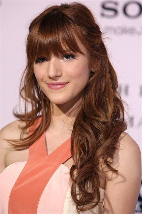 hair with side fringe styles 25 best fringe hairstyles to refresh your look 8441