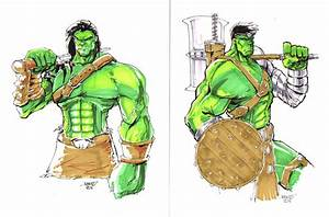 Planet Hulk Skaar Commisisons by rantz on DeviantArt