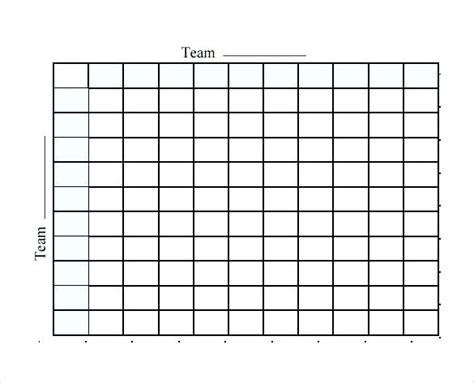 free printable football squares template football squares sheet blank team template rightarrow template database