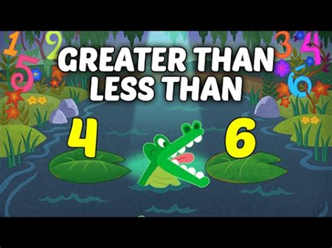 comparing numbers greater     kids