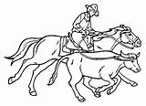 Cowboy Coloring Pages Coloringpages1001 sketch template