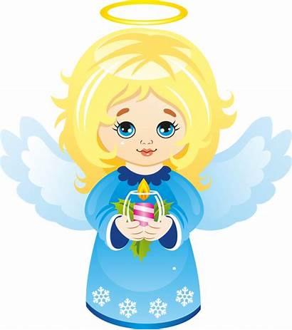 Angel Cartoon Angels Clipart Christmas Clip Cartoons