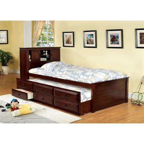 twin storage bed  headboard kids interior exterior