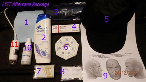 blue light treatment aftercare image