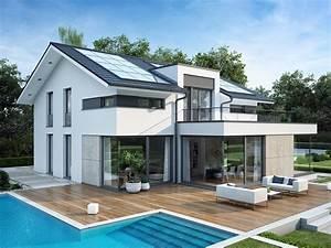 evolution mannheim o holzhaus von bien zenker With garten planen mit fertighaus mit balkon