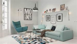 Idée Déco Salon Scandinave : 1001 id es salon nordique minimalisme et chaleur venus du froid ~ Melissatoandfro.com Idées de Décoration