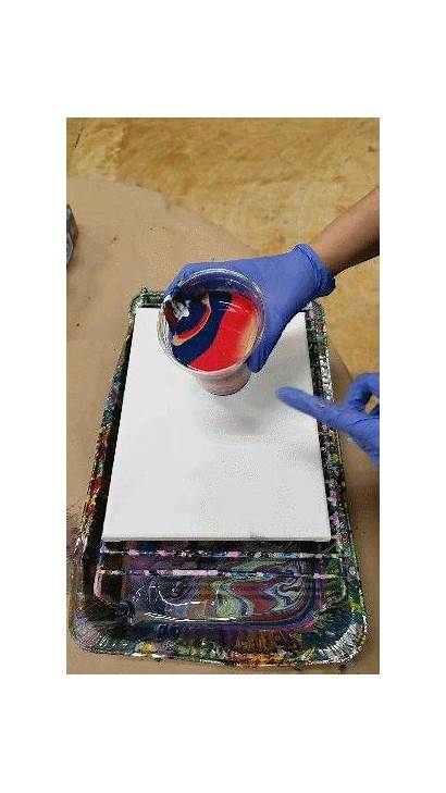 Pour Painting Acrylic Pouring Paint Abstract Recipe