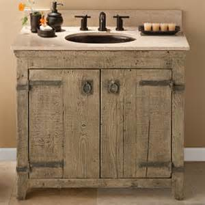 Distressed Bathroom Vanity Diy by 36 Quot Old World Vanity From Native Trails