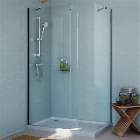 Shower With B by Cooke Lewis Exuberance Rectangular Shower Enclosure With