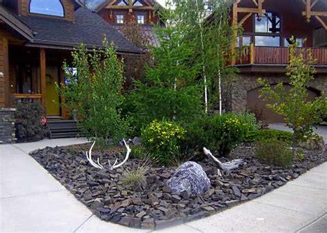 rock garden designs for front yards frontyard landscaping