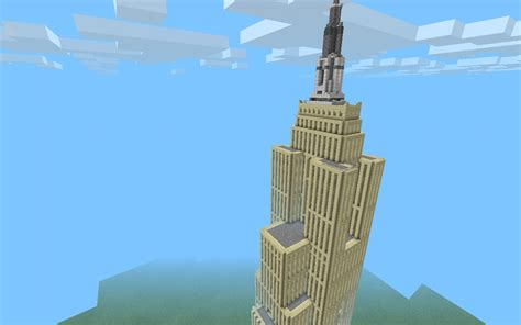 empire state building mcpe maps minecraft pocket