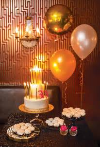 Pink and Gold 30th Birthday Party Ideas