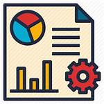 Icon Reporting Report Tools Data Business Software