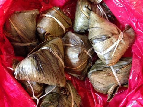 Dragon Boat Festival Rice Cake by Glutinous Rice Dumplings And The Dragon Boat Festival